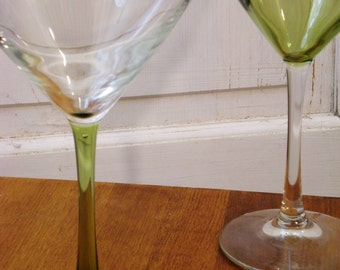 Jumbo His & Hers Martini Glasses Set of 2