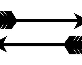 Arrow stickers - vinyl decals for phones, tablets, walls etc.
