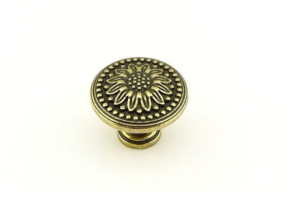 Tiroir poign es poign es commode antique boutons poign es - Bouton de commode ...