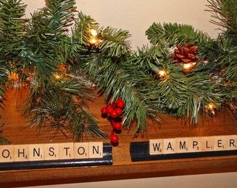 PERSONALIZED Scrabble Ornaments-Custom Name