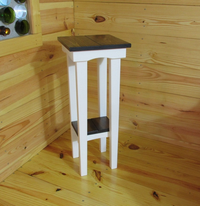 tall side table end table reading table bedside table. Black Bedroom Furniture Sets. Home Design Ideas