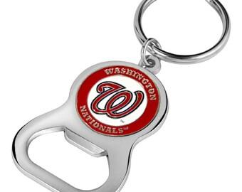 Washington Nationals Keychain Bottle Opener