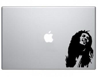 Bob Marley Rasta Reggae Macbook Decal Macbook Sticker Mac Decal Mac Sticker Decal for Apple Laptop Macbook Pro / Macbook Air