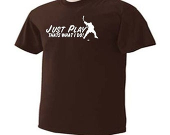 KIDS Just Play Ice Hockey Thats What I Do Hockey Player Ice Sport T-Shirt