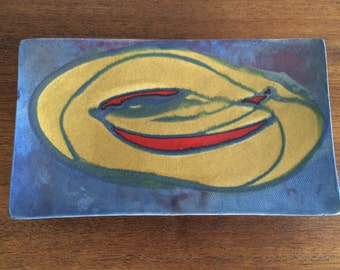 Art Pottery Dish from Quebec artist José Drouin