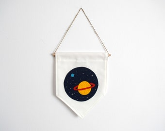 SATURN - Wall Banner