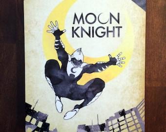 Moon Knight Metal Plate