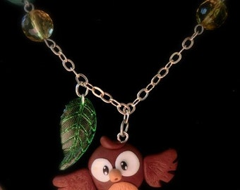 ♥ Lucky OWL necklace