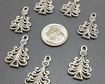 Christmas Tree Charm Etsy - Christmas Tree Charms