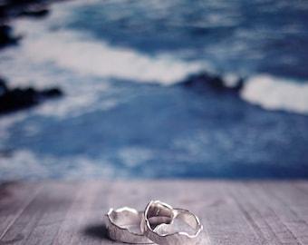 Silver Mountain Ring - Klukkutindar for Men/Women