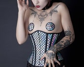 Cold Blooded Underbust Steel Boned Corset