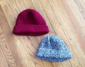 Gray Speckled Beanie Hat