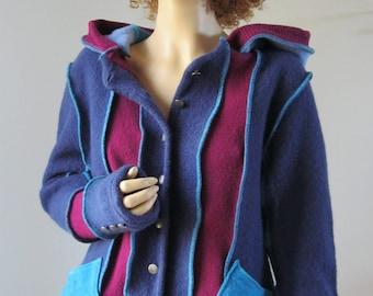 Size L Felted Wool Jacket