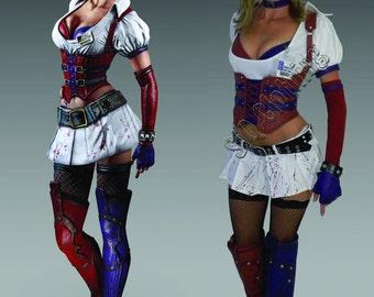Harley Quinn Arkham Asylum Costume