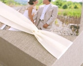 Photo Proof Box. 500 4x6 Prints. Custom Order. Shown in Natural Linen and Ivory.