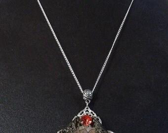 Clockwork red Timeless 2 necklace