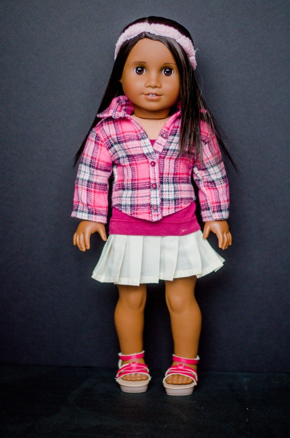 The Jessie Jacket for American Girl and other 18 inch dolls