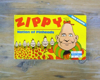 Vintage Zippy Nation of Pinheads, Bill Griffith