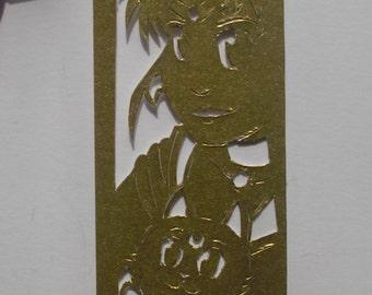 Papercut Bookmark Sailor Moon
