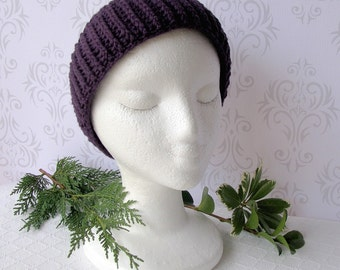 Purple Headband - Ear Warmer