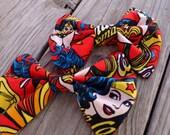 Wonder Woman Hair bow, bow tie