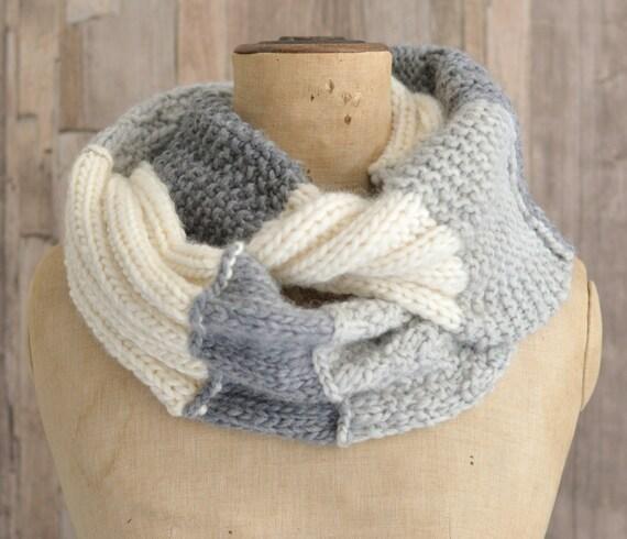 Free Mens Hat Knitting Pattern : KNITTING PATTERN Infinity Scarf Easy Beginner by Richmondhillknits