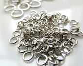 Silver Jewelry Findings Variety Pack - Silver Head Pins, Silver Eye Pins, and Silver Jump Rings