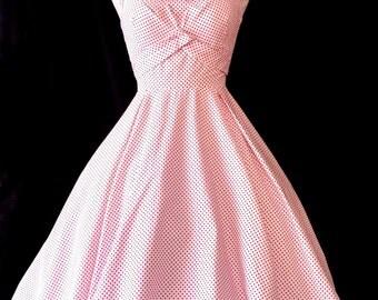 Pin Up Polka Dot Retro Swing Dress SALE
