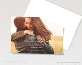 Photo Save the Dates Magnets, Funny Save the Date with full magnet backer