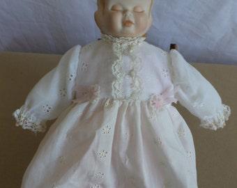 Three Face Doll Vintage  Porcelain