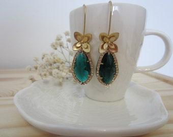 Wedding Earrings mod. Narcisus