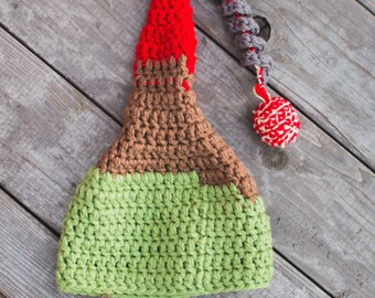 Crochet Pattern Volcano/ Frozen Mountain Hat. Instant Digital download CP214VH