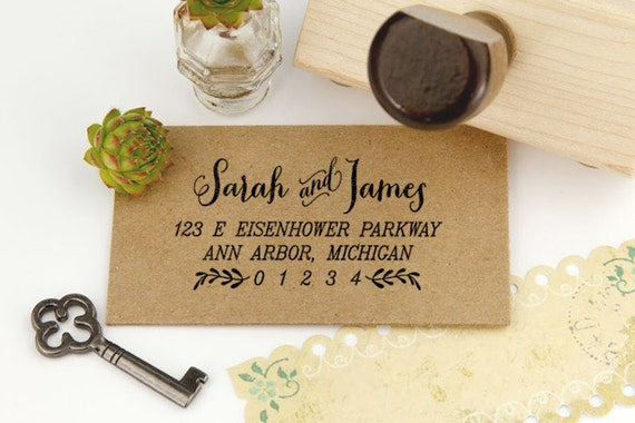 Return Address Stamp, Housewarming Gift Stamp, DIYer Gift Stamp ...