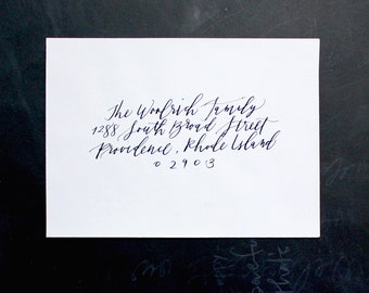 Items Similar To Modern Calligraphy For Wedding