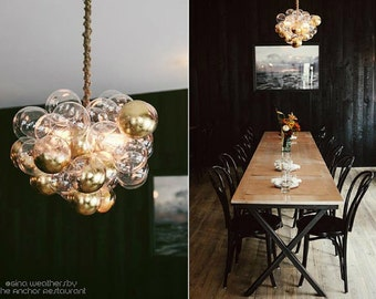 "The Large Bubble Chandelier (22"" diameter)"