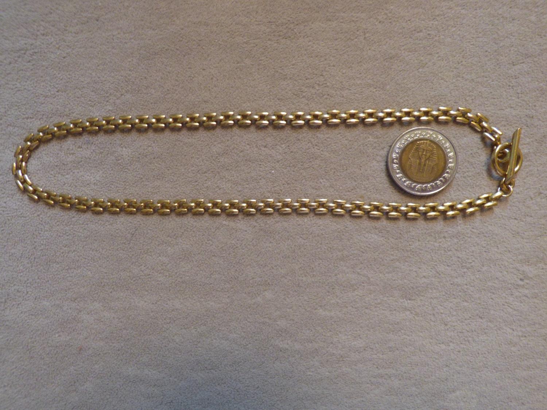 Serpentine Choker Necklace Gold Plated Brass by ChicAvantGarde  Serpentine Chok...