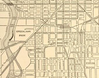 Indianapolis Map Indianapolis Street Map Indiana