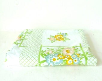 60s Monticello Twin Flat Sheet