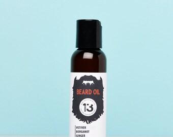 Bergamot, Vetiver and Ginger Beard Conditioning Oil