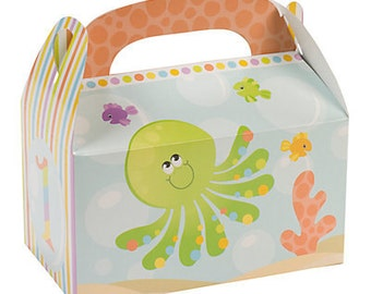12/Under the Sea 1st Birthday Treat Boxes/ Favor boxes