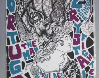 Portugal. the Man Boulder 2013 silkscreen Concert Poster grealish Original Rare