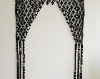 Door Hanging Designs diy making colourful paper door hanging best home decor designs Macrame Door Arch