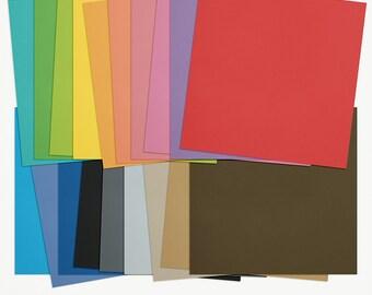 Everyday Kraft Basics Digital Scrapbooking Paper Bundle