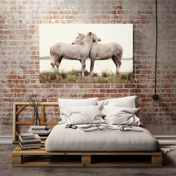 Horse art canvas wall art canvas print home decor nature for Large canvas prints for sale