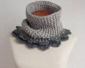 Snood Crochet Pattern - Cloe Cowl PDF - Instant DOWNLOAD