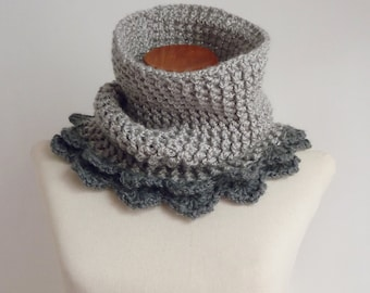 Cowl Crochet Pattern - Cloe Cowl PDF - Instant DOWNLOAD