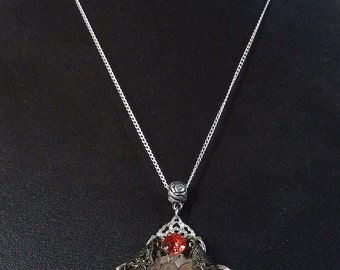 Clockwork red Timeless 2 necklace