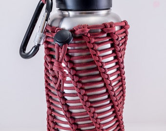 Multi Harness 40oz- Canteen Holder- Water Bottle- Stainless Bottle- Canteen Sleeve- Backpacking Bottle- Basket- Water Purifier