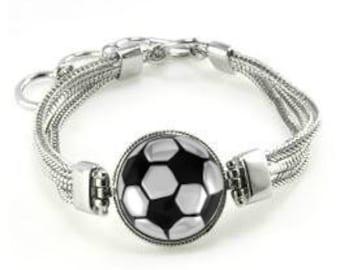 Soccer Bracelet - Soccer Jewelry - Soccer - Gift For Soccer Player - Soccer Team Gift - Soccer Team Bracelets