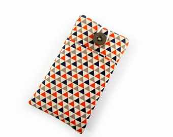 iPhone Sleeve, iPhone 5, iPhone 6, Nexus 5, Nexus 6, Galaxy S6, Phone Case POCKET, iPhone Cover / Triangles